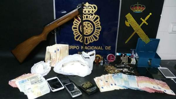 NP: Desarticulada Una Organización Criminal Dedicada A La Distribución De Cocaín