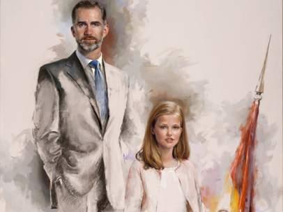 Felipe VI y su primogénita
