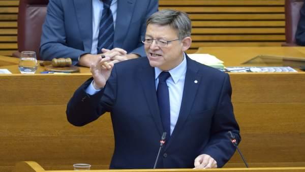 Els grups preguntaran a Puig en les Corts pels pressupostos, el frau fiscal i el Govern de Rajoy