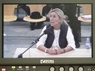 Isabel Jordán, acusada en el juicio a la Gürtel