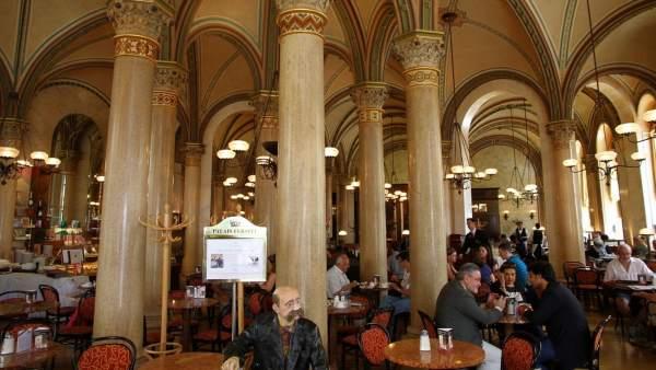 Café Central de Viena