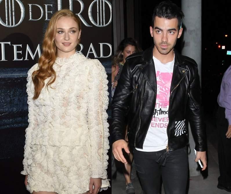 Pillan a Joe Jonas y a Sophie Turner, de 'Juego de Tronos ...