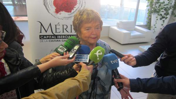 Madrina de la Capitalidad Gastronómica, Mª Isabel Mijares