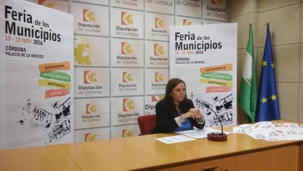 Carrillo presenta la Feria de los Municipios