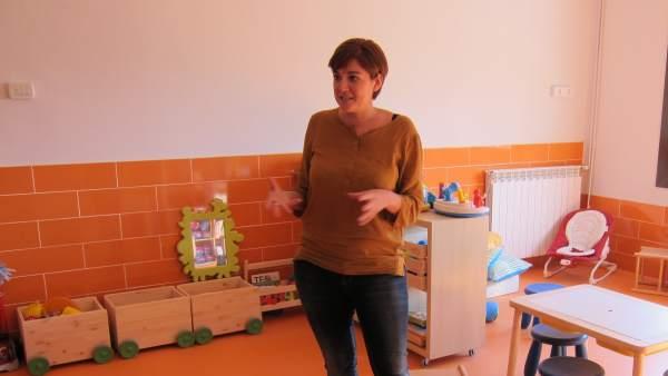 La directora del Centro Socioeducativo Poblenou de la Pere Tarrés, Cristina López.