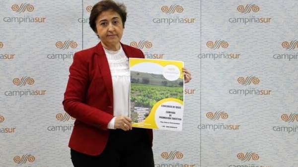Carmona, durante la presentación del concurso