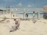 Charles Conder - A Holiday at Mentone, 1888