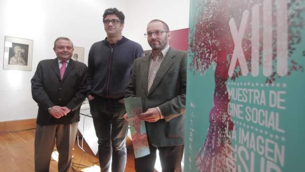 Alcalde, Cantero y Luque en la presentación