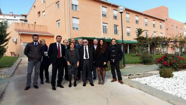 Broto en su visita a Teruel este lunes
