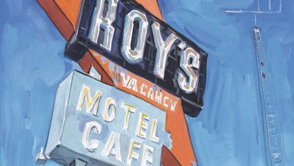 Bob Dylan - Abandoned Motel, Eureka (detail), 2015–2016