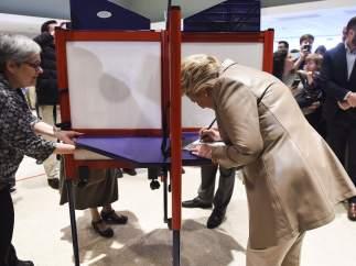 El voto de Hillary Clinton