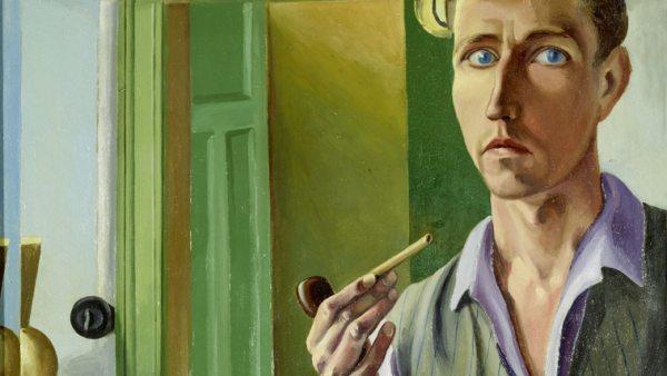 'Selbstporträt im Spiegel', 1929