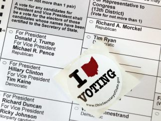 """""""Amo votar"""""""