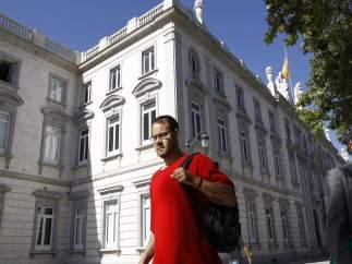 El rapero Pablo Hasel acude a declarar en la Audiencia Nacional