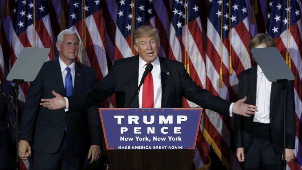 Discurso de la victoria de Donald Trump