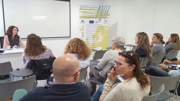Reunión sobre programas UE en Benahavís