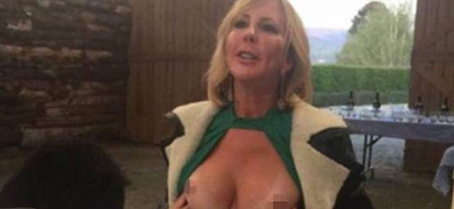 Vicki gunvalson naked nude uncensored are