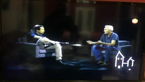 Entrevista de Iglesias a Cañamero.