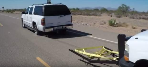 'Grappler', sistema de bloqueo de ruedas contra ladrones