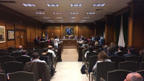 La Corporación Provincial se ha reunido para debatir sobre situación de Galasa.