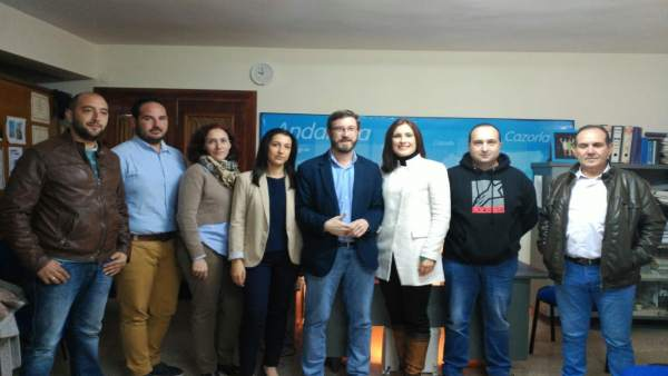 Reunión con concejales del PP en la comarca de Cazorla