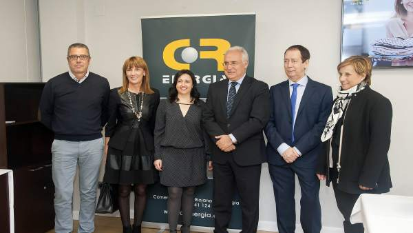 Ceniceros, González, y Sáez Rojo junto a Antolín visitan CR Energía