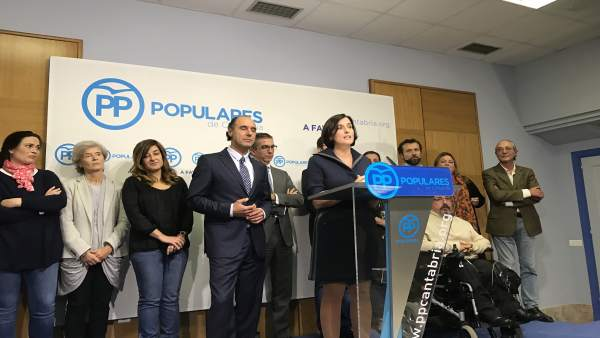 Intervención de Igual como candidata a la Alcaldía de Santander