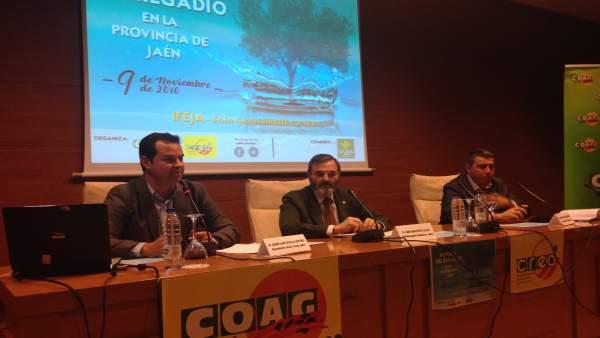 Jornadas de COAG sobre el regadío en la provincia