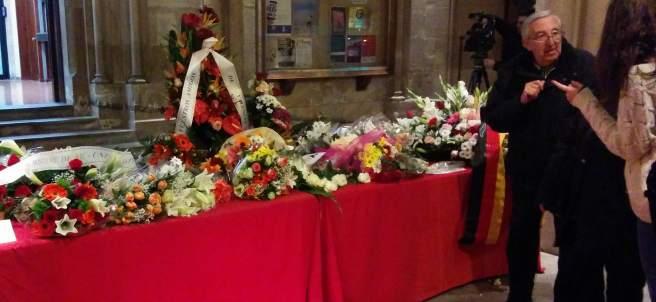 Espacio habilitado en la UB en recuerdo de las víctimas de Freginals.