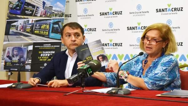 José Manuel Bermúdez y Marisa Zamora