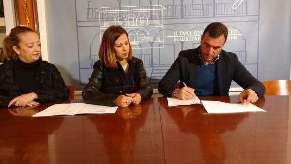 María José Bejarano y Rubén Rodríguez