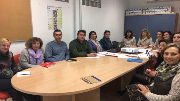 Reunión sobre el proyecto europeo de movilidad Young Eurolab.