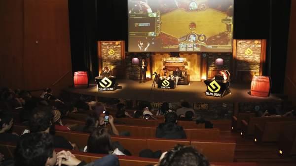 [Ndp Poharra]: La Élite Mundial De Los Videojuegos Se Da Cita En La Gamegune 201