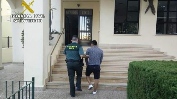 La Guàrdia Civil aclarix dues violacions comeses a Xaló i Calp el passat pont