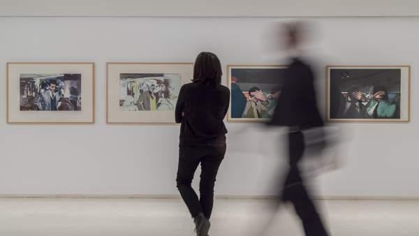 """L'IVAM exposa els fons de Richard Hamilton en una mostra sobre el seu pop art """"irònic"""""""