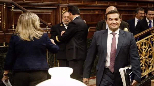 Marcial Gómez en el Congreso de los Diputados