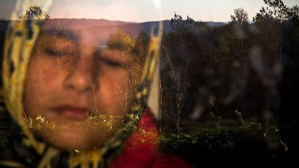 'Vida cotidiana'. Tercer premio de Fotografías Individuales (Irán): 'Into the light'.