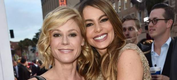 Julie Bowen y Sofía Vergara
