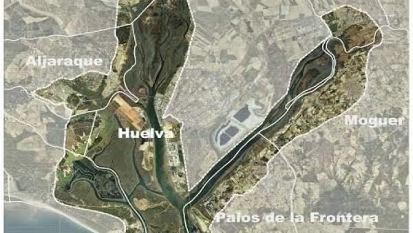 Cinturón metropolitano de Huelva.