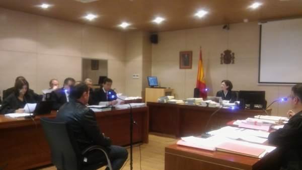 El acusado por el accidente de Monesterio en el juzgado de Don Benito