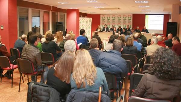 Celebración del primer comité de UPA-Jaén.