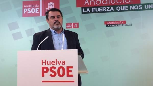 Jesús Ferrera en rueda de prensa