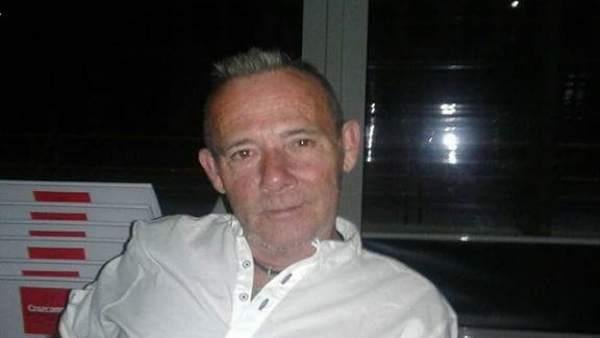 El desaparecido José Brimes, poco antes de su desaparición