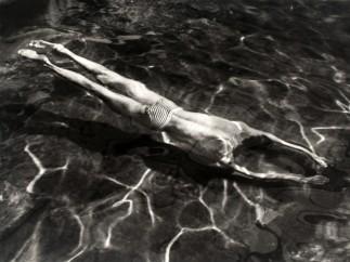 André Kertész 1894-1985 - Underwater Swimmer, Esztergom, Hungary, 30 June, 1917