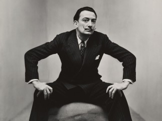 Irving Penn 1917-2009 - Salvador Dalí, New York, 1947
