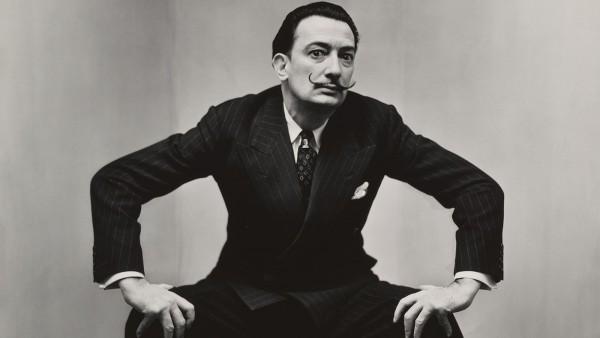Irving Penn 1917-2009 - Salvador Dalí, New York, 1947