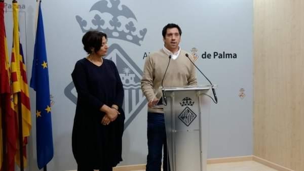 El concejal de Infraestructuras y Accesibilidad, Rodrigo A. Romero