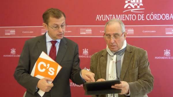 José Luis Vilches con David Dorado