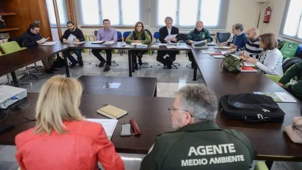 Reunión para coordinar la seguridad en espacios protegidos de Granada