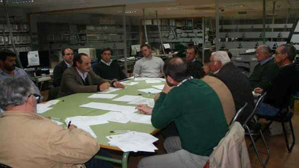 Reunión de la sectorial del cerdo ibérico de Asaja-Córdoba